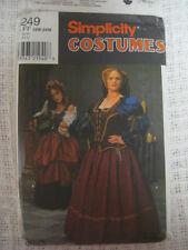 MEDIEVAL DRESS Costume Sewing Pattern SCA LARP Simp8249