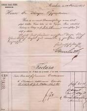 MANNHEIM, Rechnung 1873, Conrad Haas Söhne, hier: Candis