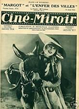 CINE MIROIR N° 125 1927 JEAN ANGELO. RACHEL DEVIRYS