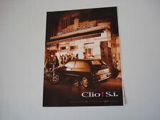 advertising Pubblicità 1994 RENAULT CLIO