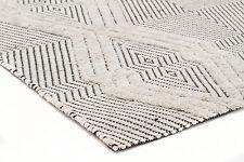 MILLERS 740 WOOL IVORY FLATWEAVE RUG 3 sizes Modern Floor Mat FREE DELIVERY*