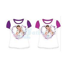 VIOLETTA DISNEY Maglia, maglietta manica corta, T-shirt cotone scontatissima