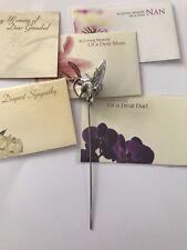 B2 Kingfisher Memorial Graveside Stake Funeral Mum Nan Dad Friend Garden