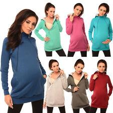 purpless maternidad, Pregnancy & Lactancia Sudadera Con Capucha Con zips-easy