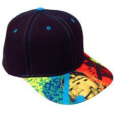 Ibiza Rocks Snapback Cap Logo Party People Trucker Hat Black RRP £50.00