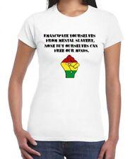 EMANCIPATE YOURSELVES WOMEN'S REGGAE T-SHIRT - Reggae Rasta Bob Marley