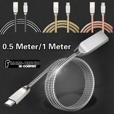 Tipo de metal c Usb Data Sync Carga Cargador Cable Universal para diversos teléfonos