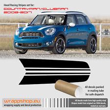 Mini Cooper 2008 - 2017 Clubman / Countryman Hood Racing Stripes Design #2