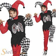 garçons horreur Arlequin déguisement halloween enfant BOUFFON costume
