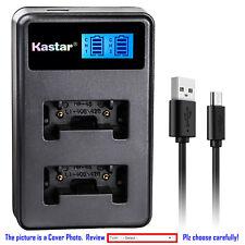 Kastar Battery LCD Dual USB Charger for Kodak KLIC-7006 & Kodak Easyshare M530