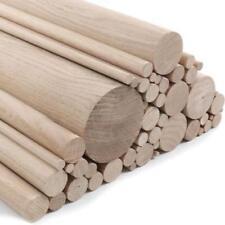 Oak Dowels - 350mm, 500mm, 1m lengths, various diameters