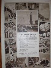 Stewart & Lloyds Steel Tubes for South Bank advert 1951