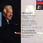Mozart: Great Piano Concertos (2x CD 1997, 2 Discs, London USA) V Ashkenazy