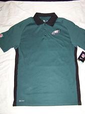 Nike DriFit Men's Philadelphia Eagles On Field Apparel Polo Shirt NWT