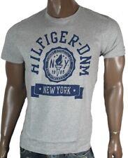 Tommy Hilfiger Denim Federer T-Shirt Shirt Gr S M L XL XXL 038 grau Hemd Neu