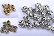 FREE SHIP 50Pcs Wholesale Tibetan Silver Little Bicone Spacer Beads 6MM C784
