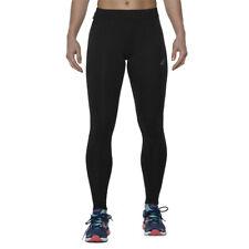 Asics Essentials Donna Nero Sport Corsa Lungo Collant Pantaloni