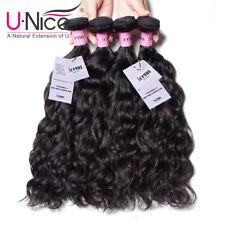 Brazilian Natural Wave Remy Human Hair Extenions 1-4 Bundles 7A UNice Icenu Hair