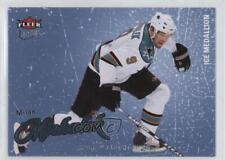 2008-09 Fleer Ultra Ice Medallion 185 Milan Michalek San Jose Sharks Hockey Card