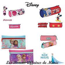 DISNEY - Trousse Mickey, Minnie, La Reine des Neiges - Neuve avec étiquette