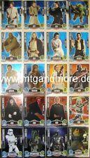 Star Wars Force coronó Movie Card-Star card escoger