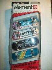 Rare ELEMENT tech deck fingerboard ORIGINAL FOUR PACK