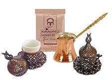 Caffè turco Set, Tazze, fuoco, caffè, Molti Colori, porcellana, ottone rame-M01