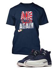 82157389b3027d Tee Shirt to Match Air Jordan 12 International Flight Shoe Air We Go Again  Tee