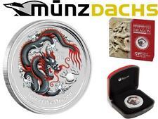 $1 Lunar II 1 oz Silver Dragon Australia 2012 World Money Fair WMF Berlin