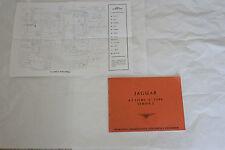 Owner's manual for Jaguar XKE Series 2 ~ 4.2 litre