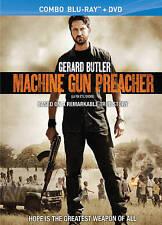 MACHINE GUN PREACHER (NEW BLU-RAY/DVD) FREE SHIPPING!!