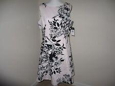 Lauren Ralph Lauren Floral-Print Fit & Flare Dress Woman Size 16 MSRP  $139