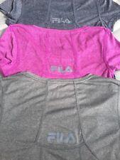 Womens FILA Quick Dry Exercise TShirt, Sport Tee, Light Weight Gym Top, FreePost