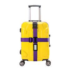Style Stripe Lock Belt Luggage Suitcase belt Suitcase packing belt Luggage lock