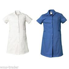 Camice lavoro cappotto donna abbigliamento da cotone viertelarm NUOVO