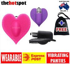 Wearable Vibrator Heart Vibrating Panties Clitoris Bullet Sex Toy Ladies Clit