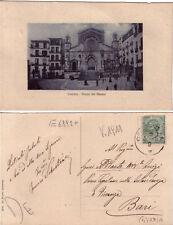 Cartolina d'epoca - Cosenza - Piazza del Duomo