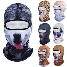 3D Print Animal Outdoor Motorcycle Cycling Ski Balaclava Cat Dog Full Face Masks