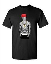 Trump Make America Great Again President USA Thug Gangster DT Adult T-Shirt Tee