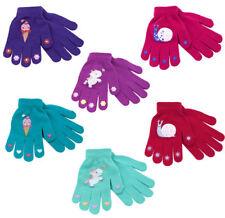 Chicas rjm Magic Gloves Varios Diseño GL108 un tamaño Unicornio/Caracol/Ice Cream