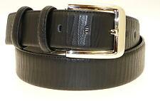 Véritable homme ceinture en cuir noir en boîte cadeau-toutes tailles