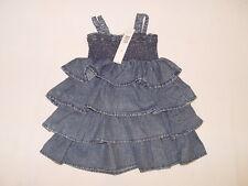 NWT $52 DKNY dress GIRL size 4T med wash