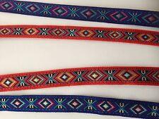 Vintage bordées de dentelle broderie ruban ribbon À faire soi-même Hand Craft 1 Yd (environ 0.91 m)
