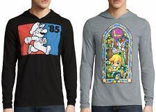 Nintendo Super Mario Legend of Zelda Hoodie T-Shirt - Men's M XL XXL - New +Tags