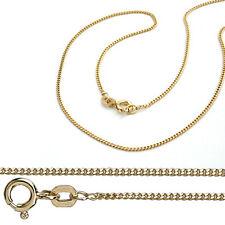 Juwelier Flach Panzer Kette Stärke 1,1 mm aus Echt Gold 333 (8 Kt) Gelbgold Neu