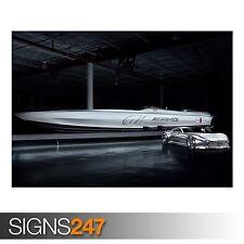 MERCEDES BENZ VISION GT AMG (AB585) CAR POSTER - Poster Print Art A0 A1 A2 A3