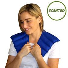 Neck & Shoulder Microwaveable & Reusable Lavender Scent - My Heating Pad (Blue)