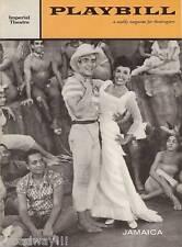 "Lena Horne ""JAMAICA"" Ricardo Montalban / Harold Arlen / Yip Harburg '58 Playbill"