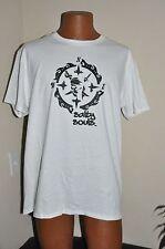Salty Souls Pirate Skull & Compass T-shirt Salt Beach Surfing Fishing Life