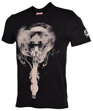 Sex Money Weed Men's Gas Mask Bong T-Shirt-Black